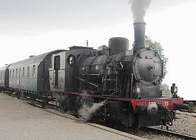 Train Located In Vigy