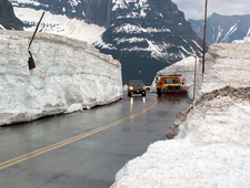 Logan Pass At Montana
