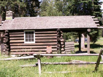 Logging Creek Fireguard Station Historic District - Glacier - USA