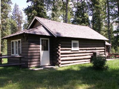 Logging Creek Ranger Station Historic District - Glacier - USA