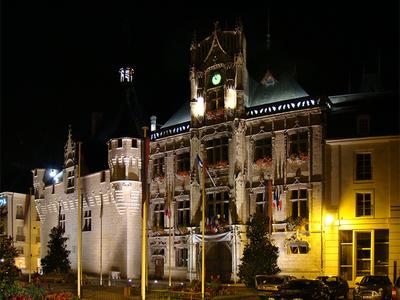 The Saumur City Hall