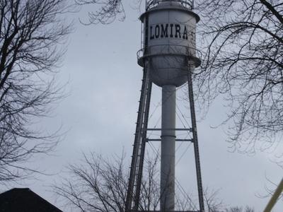 Lomira Wisconsin Water Tower