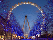 London Eye At Twilight