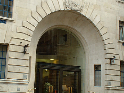 Entrance To The London School Of Economics