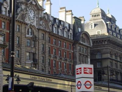 London Victoria Entrance Facade