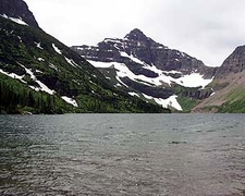 Lone Walker Mountain At Montana - USA