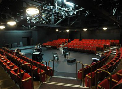 Long Beach Playhouse Theater Stage