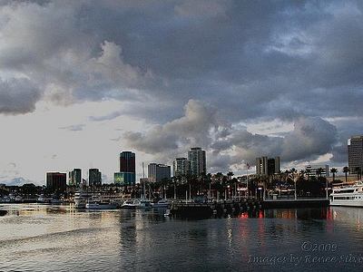 Long Beach Skyline - CA