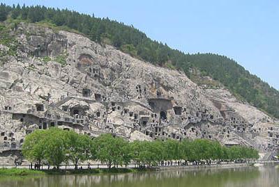 Longmen Grottoes, Mt. Longmen