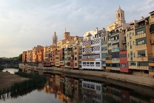 L'Onyar Girona - Catalonia - Spain