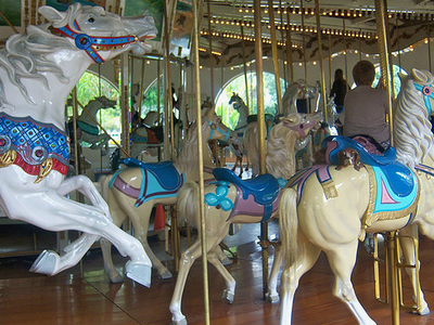 Looff Carousel At Seaport Village