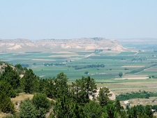 Looking North-Northwest At Scottsbluff National Monument