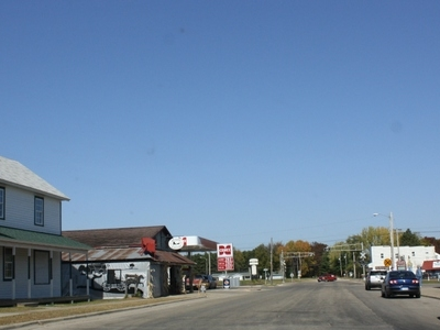 Looking North In Downtown Warrens