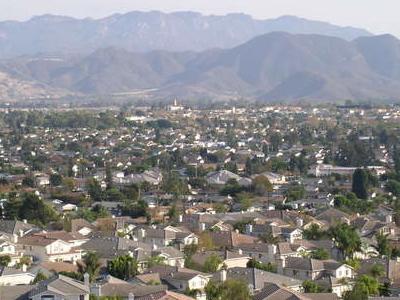 Looking Southeast Across