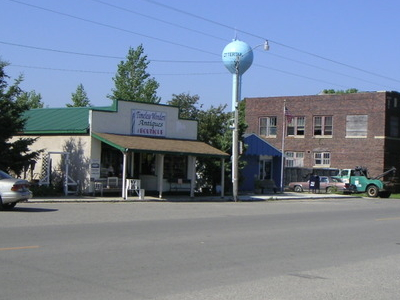 Looking Southwest Along Main Street
