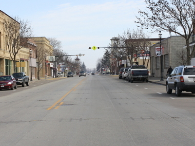 Looking West At Downtown Omro