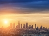 Los Angeles City Evening CA