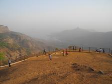 Louisa Point Evening View- Matheran - Maharashtra - India