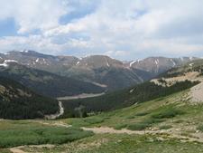 Looking East Atop Loveland Pass