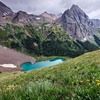 Lower Blue Lake - Mt. Sneffels Wilderness CO