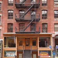View Of Lower East Side Tenement Museum