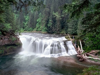 Lower Lewis River Falls