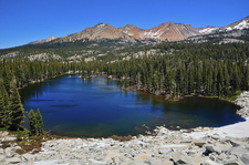 Lower Merced Pass Lake