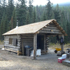 Lower Park Creek Patrol Cabin - Glacier - USA