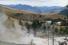 Lower Terrace Overlook - Yellowstone - USA