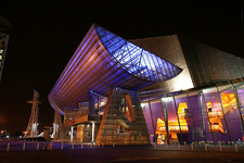 Lowry Theatre At Night