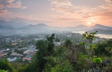 Luang Prabang City Overview