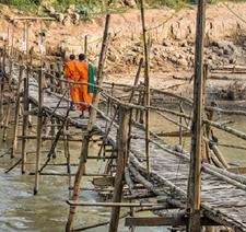 Luang Prabang Wooden Bridge