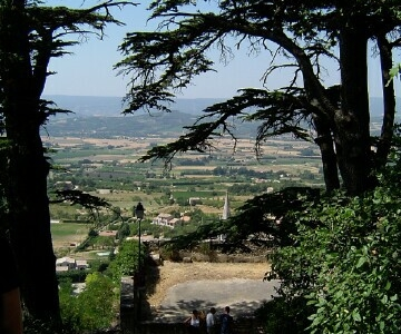 View Of The Luberon Valley