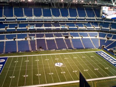 Lucas Oil Stadium Interior