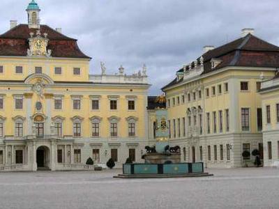 Ludwigsburg Palace Inner Courtyard
