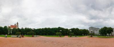Lukiskes  Square  Vilnius