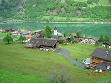 Lugern, Traditional And Modern Houses