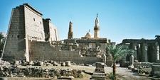 Northwestern Part Of Luxor Temple