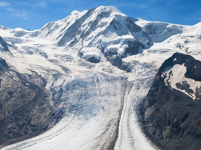 Lyskamm Summit & Grenz Glacier