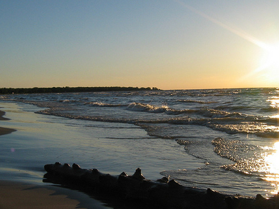 Ipperwash Beach Lake Huron