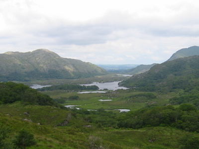 Lakes Of Killarney As Viewed From Ladies View
