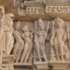 The Carving Of Lakshman Temple