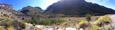Panorama Of Lamoille Canyon