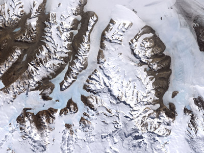 McMurdo Dry Valleys, Landsat 7 Imagery Acquired