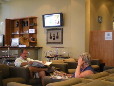 Lanseria Airport Departure Lounge