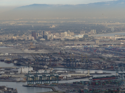 Port Of Los Angeles And Long Beach