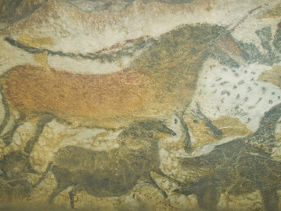 Reproductions Of Some Lascaux Artworks In Lascaux II