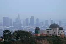 Skyline From Behind The Griffith Observatory