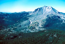 Northeast Side Of Lassen Peak