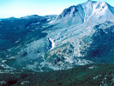 Northeast Side Of Lassen Peak